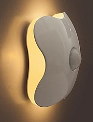 LED Clover Human Body Infrared Induction Wall Night Lamp