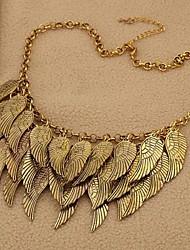 Women's Fashion Multi-level Wings Alloy Necklace