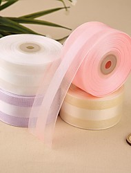 Satin and Organza Ribbon(More Color)