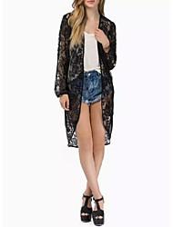 Daisy Women's Long Sleeve Lace Coat