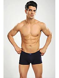 dos homens da marca abetos 2 peças / lote atletismo esportivos casuais modal de algodão cuecas boxers calças curtas