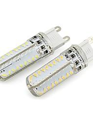 6W G9 Lâmpadas Espiga 72 SMD 3014 260 lm Branco Quente / Branco Frio Regulável AC 220-240 V