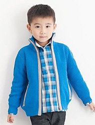 Boy's Cotton Sweater & Cardigan,Winter / Fall Solid