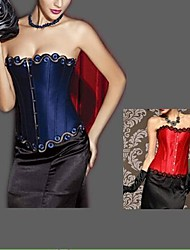 lolita gothique chaude noble polyester broderie corset