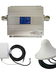 New LCD DCS 1800MHz Mobile Phone Signal Booster + Antenna Kit