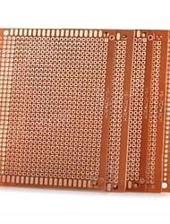 diy 7 x 9 centímetros baquelite PCB placa de circuito universal - ouro (5pcs)