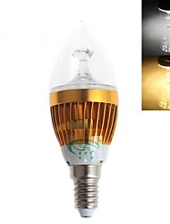 Zweihnder E14 5 W 15 SMD 2835 450 LM Warm White/Cool White CA Decorative Candle Bulbs AC 220-240 V
