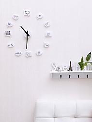 DIY творчески индивидуальный вкус часы