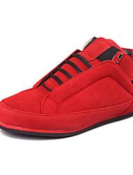 Scarpe da uomo - Sneakers alla moda - Casual - Finto camoscio - Nero / Marrone / Giallo / Verde / Rosso / Grigio / Arancione