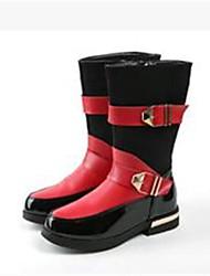 Kunstleder - MÄDCHEN - Runde Zehe/Fashion Boots - Stiefel