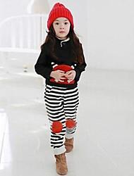 de dibujos animados de moda de la ropa de la raya de los niños