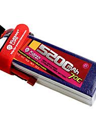 Kudian RC Battery 70C 5200mAh T Plug 2S