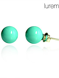 Lureme®Exquisite Turquoise Earrings