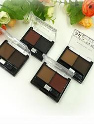 2 couleurs poudre de sourcil (4 couleurs sélectionnables)