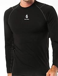 wolfbike manga larga camiseta ciclismo de base transpirable camiseta de los hombres