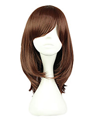 Cosplay Wigs Cosplay Cosplay Brown Short Anime Cosplay Wigs 40 CM Heat Resistant Fiber Female