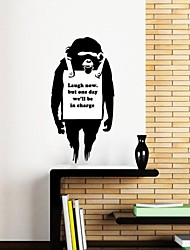 Wall Stickers Wall Decals, Modern Banksy Message Board PVC Wall Stickers.
