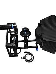 gaiola câmera alça superior da haste 15 milímetros de alumínio placa bloco follow foco matte box estabilizador para 500d D7000