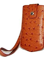 dengpin pu struzzo cuoio del sacchetto della copertura della cassa macchina fotografica di stile della pelle con strap per Sony DSC-kw1 kw1 Cyber-shot