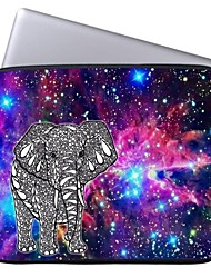 Elonbo Bright Star and Elephant 13'' Laptop Waterproof Sleeve Case Bag for Macbook Pro/Air Dell HP Acer