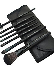 Fation Makeup Brush Sets with 7Pcs Brushs and Black Bag