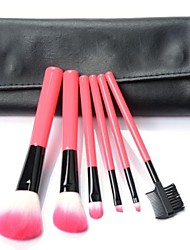 6 Makeup Brushes Set Nylon Face / Lip / Eye Others
