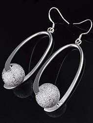 Pendientes Hoop - Aleación/Titanio - para De mujeres