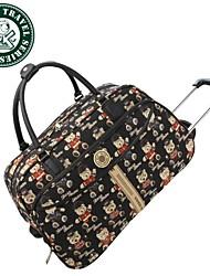 Daka Bear® continuar rodando equipaje ampliable bolso de mano maleta ligera bolsa de lona viajes conjunto de