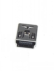Mini 5-Pin DIP USB Socket (20PCS)