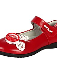 Girls' Shoes Comfort Flat Heel Leather Flats with Magic Tape Shoes More Colors available
