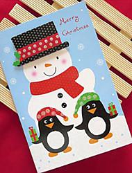 polvere di scintillio cartoline di Natale
