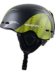 MOON® Casque Femme / Homme / Unisexe Snow Sport Helmet Sportif Sport Helmet Vert / Noir Snow Helmet CE EN 1077 / ASTM PC / EPPCyclisme /