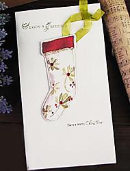 stereoscopico nastro cerotto acquerello cartolina di Natale