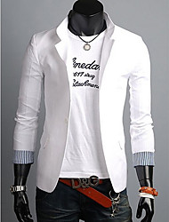 Rate Men's Lapel Neck Slim Fit Blazer
