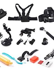 Acessórios para GoPro Monopé / Bolsas / Parafuso / Boje / Sucção / Adesivo / Alças / Bastão de Mão / Montagem / Acessório KitPara-Câmara
