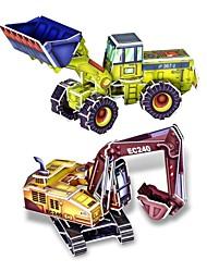 3d diy creatieve shop truck bouwen verzamelen educatieve kit puzzel speelgoed puzzel spel voor kinderen kinderen