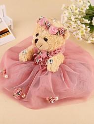 Noiva Noivo Dama de Honor Padrinho do Noivo Menina das Flores Portador do Anél Casal Presentes Piece / Set Prenda CriativaGlamorouso