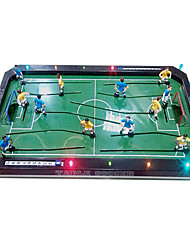 Five Handles Table Football with LED Light and Music Toys