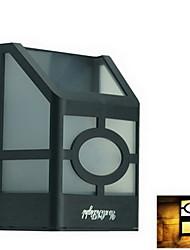 YouOKLight® High Power 2Pcs LED Warm White Light Solar Lantern Light Fence Lamp Solar Wall Mounted Light(Big Size Poly.)