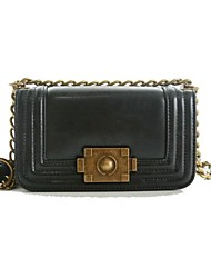 Women's Lady Chain Genuine Leather Crossbody Bags