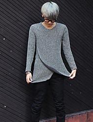 la mode loisirs tricot mince chandail des hommes