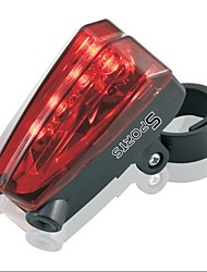 Bike Lights / Rear Bike Light / Safety Lights / Safety Reflectors LED / Laser Cycling Waterproof / Impact Resistant Cell Batteries Lumens