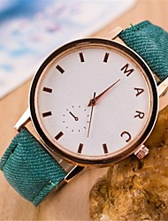 reloj de la correa de forma circular de las mujeres (colores surtidos)
