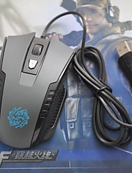 BISO G3 6D Mouse Four Gear Speed Gaming Mouse 2400 DPI