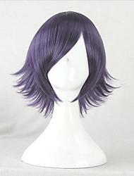 Corpse Demon Shiki Natsuno Yuuki Dark Purple Cosplay Wig