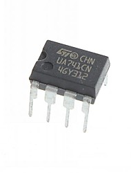 UA741 ua741cn dip-8 circuitos integrados ic (10pcs)