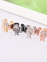Sell Well Alloy Rhinestone Fashion Earrings(More Colors)