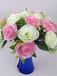 rose mariée bouquet-ensemble de 2