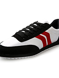 Men's Walking Shoes Leatherette Blue / Red / White