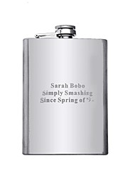 Personalized Gift 8oz Stainless Steel Hip Flask